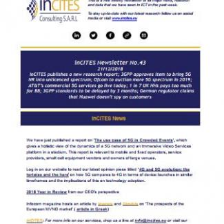inCITES Newsletter No 43